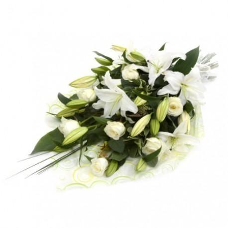 Bereavement Roses & lillies